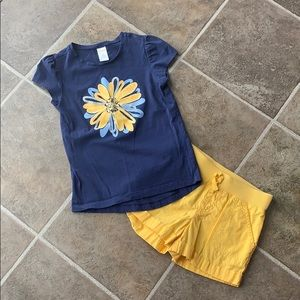 Gymboree outfit size 7 girls